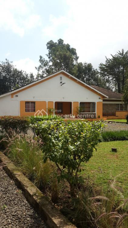 3 Bedroom + Study Room + 2 Dsq Victorian House on 1.1 Acre, Off Bogani Road, Karen, Nairobi, Detached Bungalow for Sale