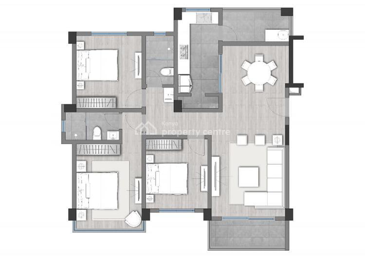 Studio Apartment in Syokimau at Kes 2.2m, Muthama Access Road, Syokimau/mulolongo, Machakos, Mini Flat for Sale