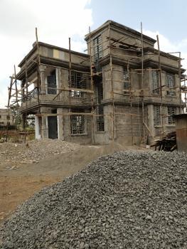 Modern 4 Bedroom Flat Roofed Maisonette 500m From Tarmac in Kikuyu, Gikambura 500meters From The Tarmac Road, Kikuyu, Kiambu, House for Sale