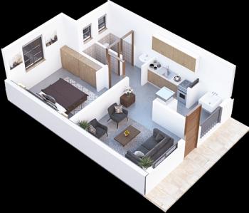 Palm Ridge Vipingo 1 Bedroom Apartment, Vipingo Ridge Road, Majengo, Mombasa, Flat for Sale