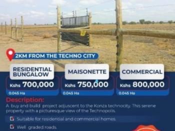 Commercial Land, Konza, Makindu, Makueni, Commercial Land for Sale