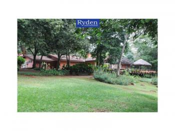 Scenic 4 Acre Residential Plot with Several Buildings, Off Kiambu Road, Mushroom Estate, Runda, Westlands, Nairobi, Land for Sale