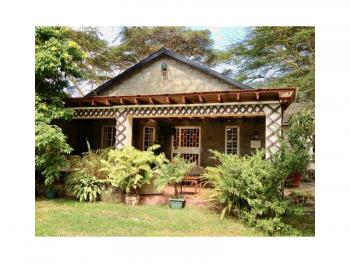 Very Attractive 20 Acre Plot with a House and Office, Fronting Lake Naivasha, Naivasha East, Nakuru, Land for Sale
