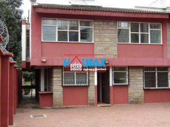 5 Bedroom Semi-detached Mansionette, Rose Estate, Kilimani, Nairobi, House for Sale