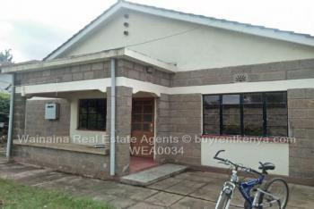 3 Bedroom Bungalows, Kahawa North, Nairobi, Detached Bungalow for Rent