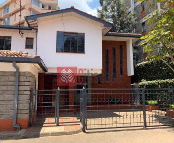 Super Spacious 4 Bed Townhouse, Kileleshwa, Nairobi, Townhouse for Rent