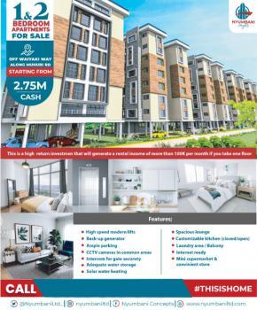 Executive 1 and 2 Bedroom Apartments in a Serene Environment, Muhuri Road, Kinoo, Kiambu, Mini Flat for Sale