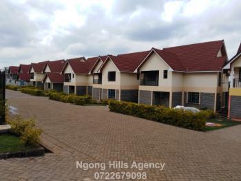 Amazing Three, Four and Five Bedrooms Villas on  Oloua Ngong, Ololua, Ngong, Kajiado, Townhouse for Sale