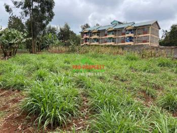 Prime Commercial Plot  in Kikuyu, Thogoto., Thogoto, Kikuyu, Kiambu, Commercial Land for Sale