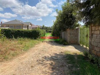 Prime Residential Plot, Lusingetti, Kikuyu, Kiambu, Residential Land for Sale